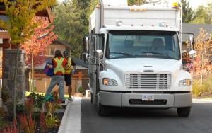 RMRS Curbside Blue Box Pickup Truck