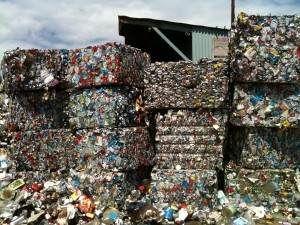 ABC Recycling - Can Bales