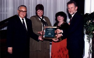 Kelli Speirs & Candace Gordon at Minister of Environment Award Presentation - 1993