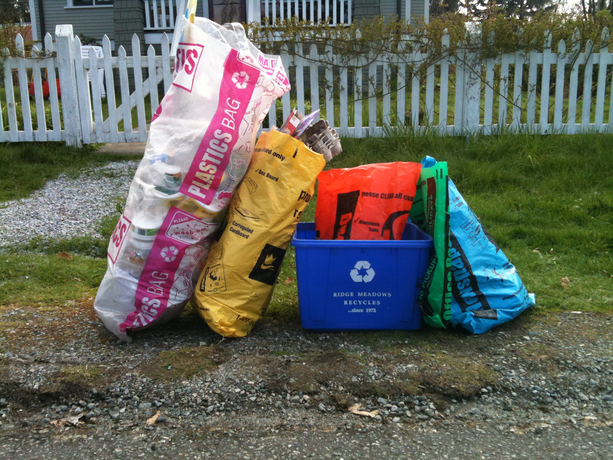 RMRS Recycling Bags 2011