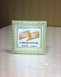 Foam Only Photo Frame
