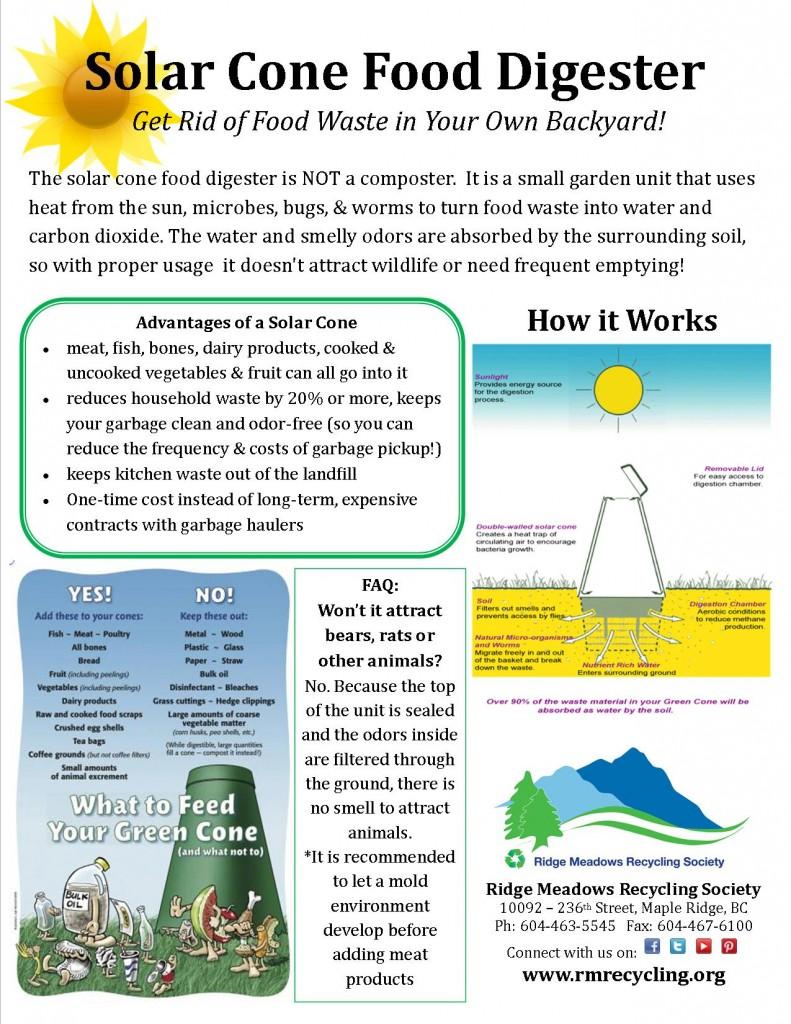 Solar Cone Description - Jan, 2015