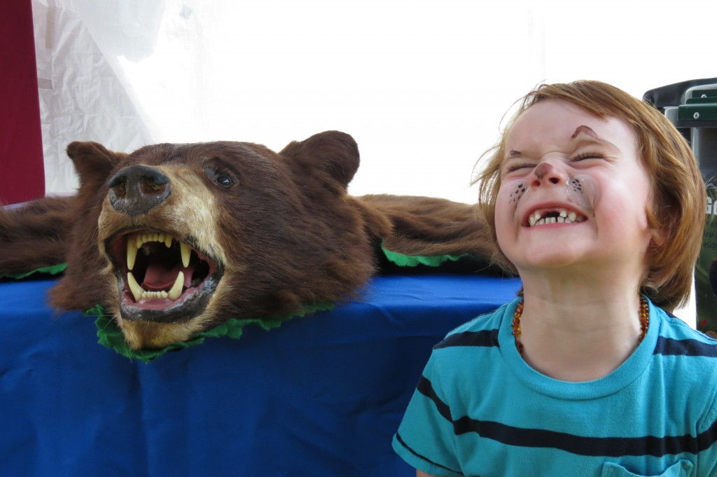 Bear Aware photo from Canada Day - July 1, 2013