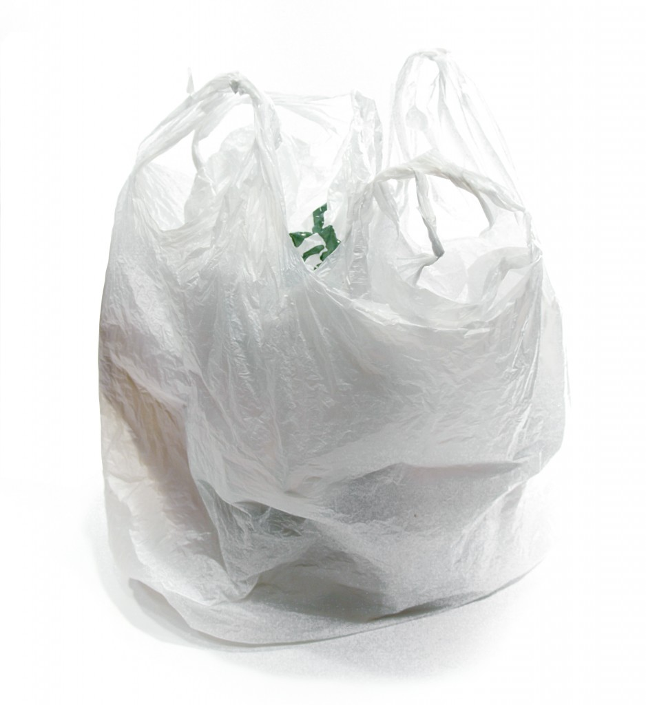 Open plastic bag