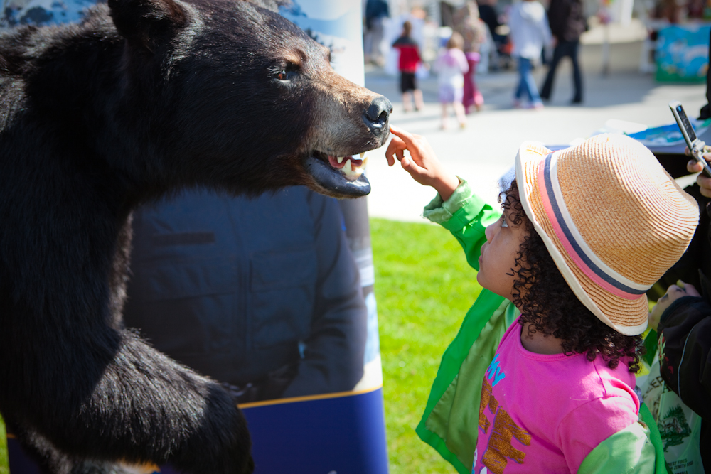 Bear Aware at Earth Day 2012