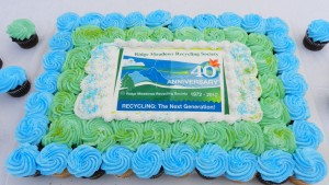 RMRS 40th Anniversary Cake at Earth Day 2012