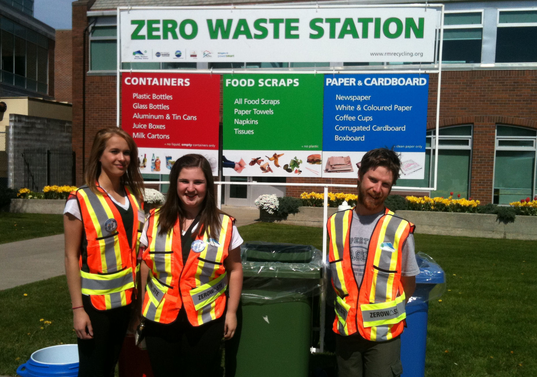 Zero Waste Station pilot at Earth Day 2012