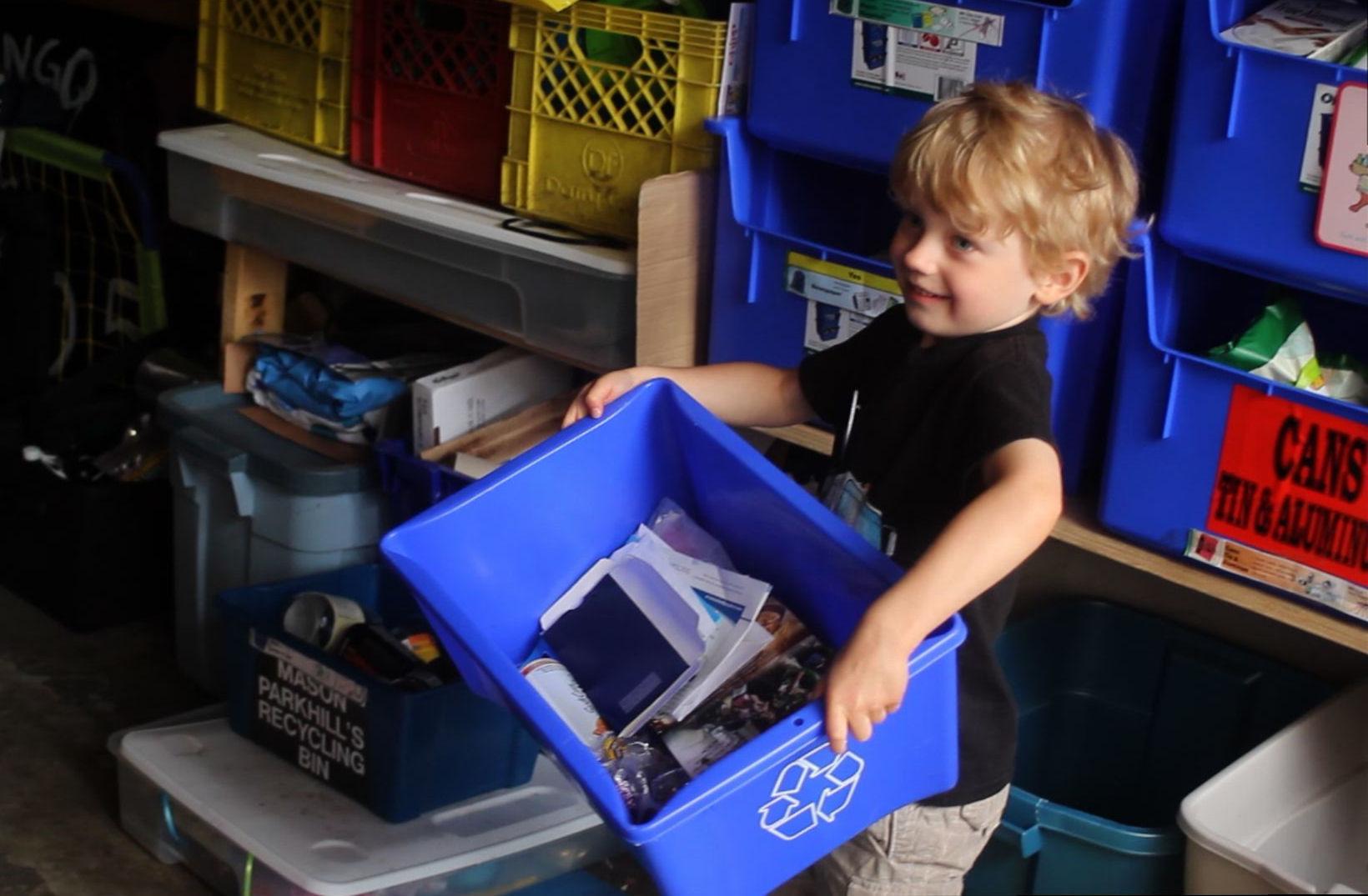 Mason Parkhill, 2011 Recycler of the Year