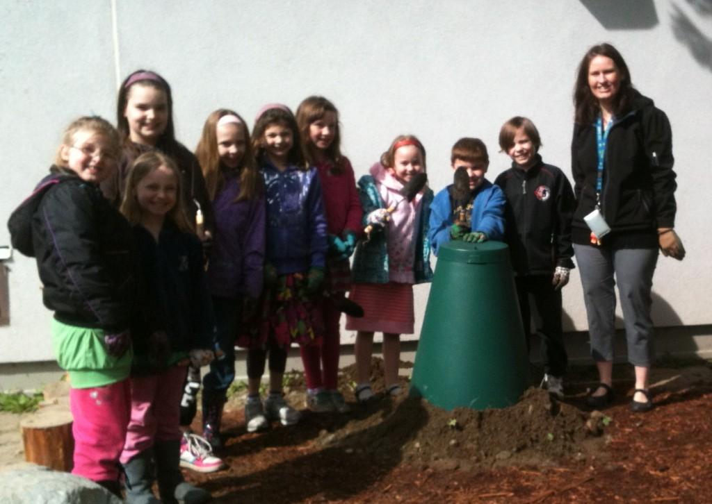 Harry Hooge Elementary School Garden & Solar Cone 2012