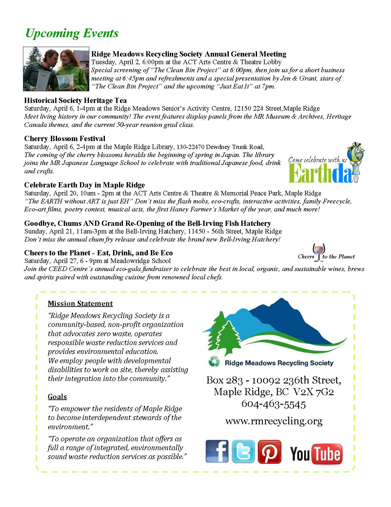 RMRS March, 2013 Newsletter - Page 4