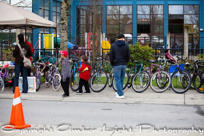 Cycle Recycle Bikes at Earth Day by Amber Light Photography - April 20, 2013