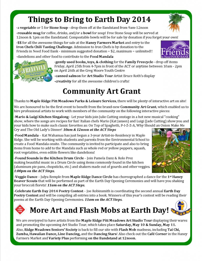 RMRS April, 2014 Newsletter - Page 2
