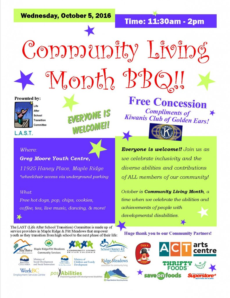 2016-community-living-month-bbq-poster-october-5-2016