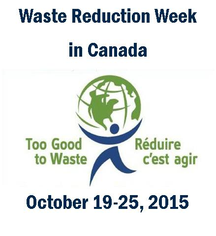 Waste Reduction Week - Oct.19-25, 2015