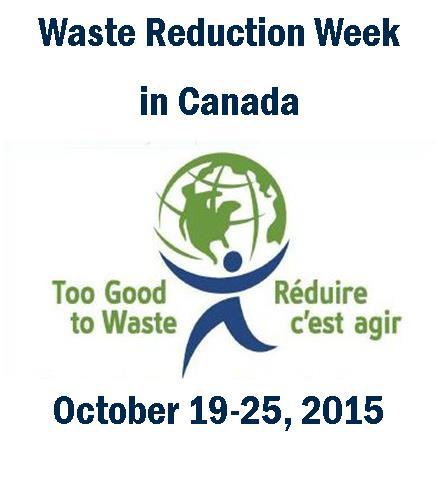 Waste Reduction Week - Oct.19-25, 2015